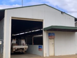 New base at Bollon Queensland
